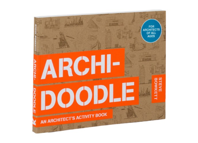Archidoodle activity book featured image