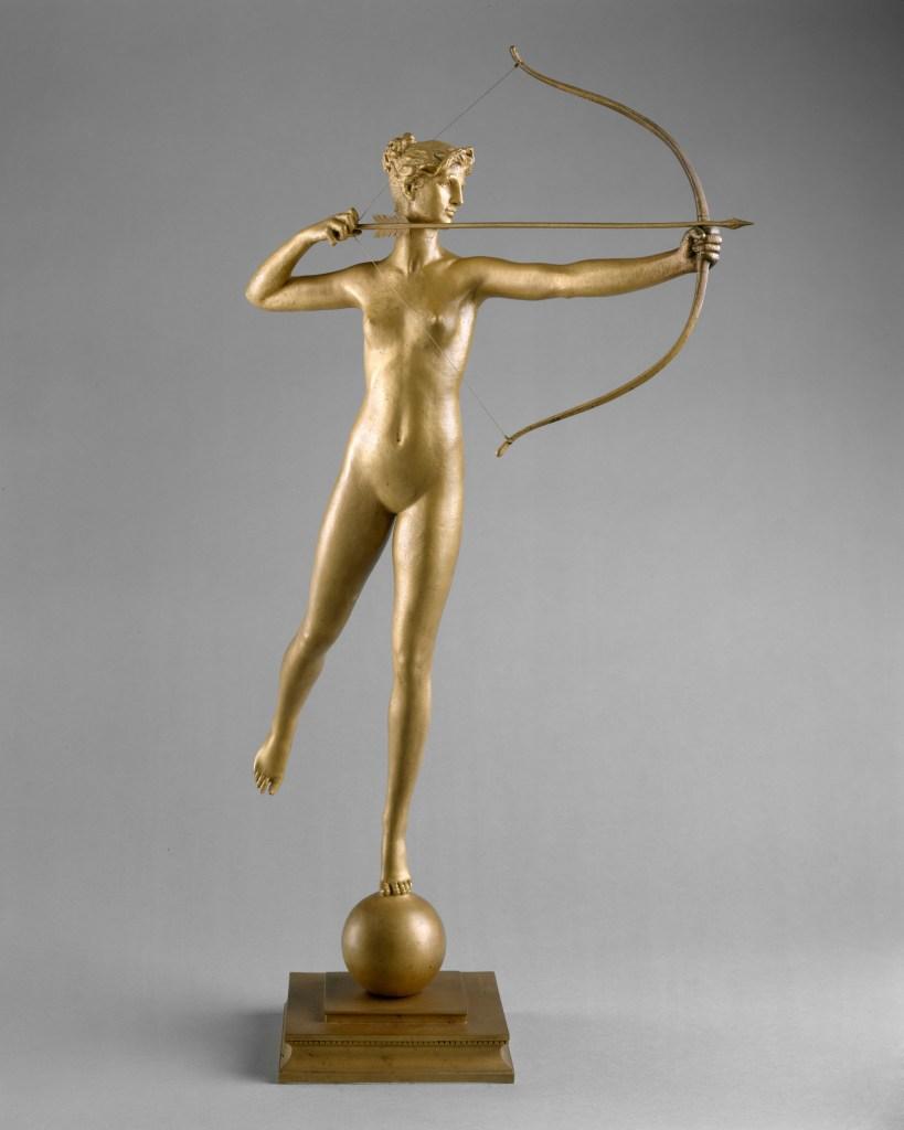 Diana 1893–94, cast 1894 or after Augustus Saint-Gaudens
