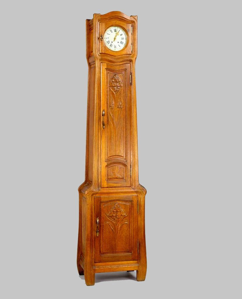 Emile Bernaux Grandfather clock