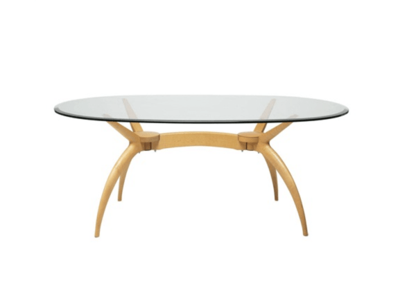 Dining table by Lluis Clotet and Oscar Tusquets (Artnet)