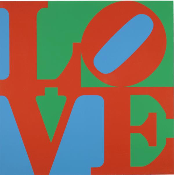 Robert Indiana LOVE 1967