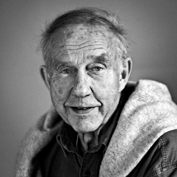 Tias Eckhoff black and white portrait