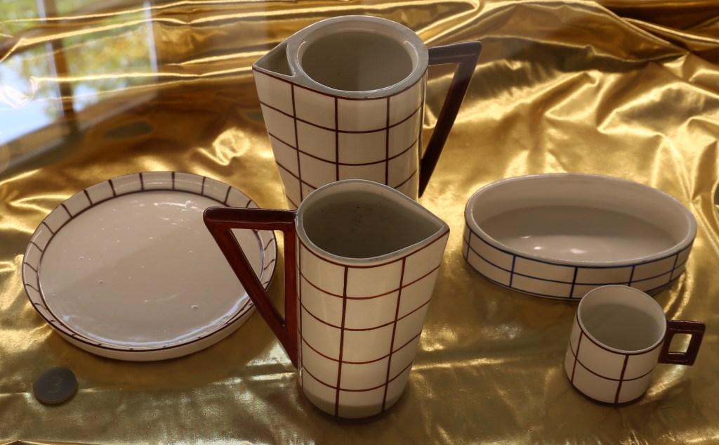Cafe service set 1911 designed by Vlastislav Hofman