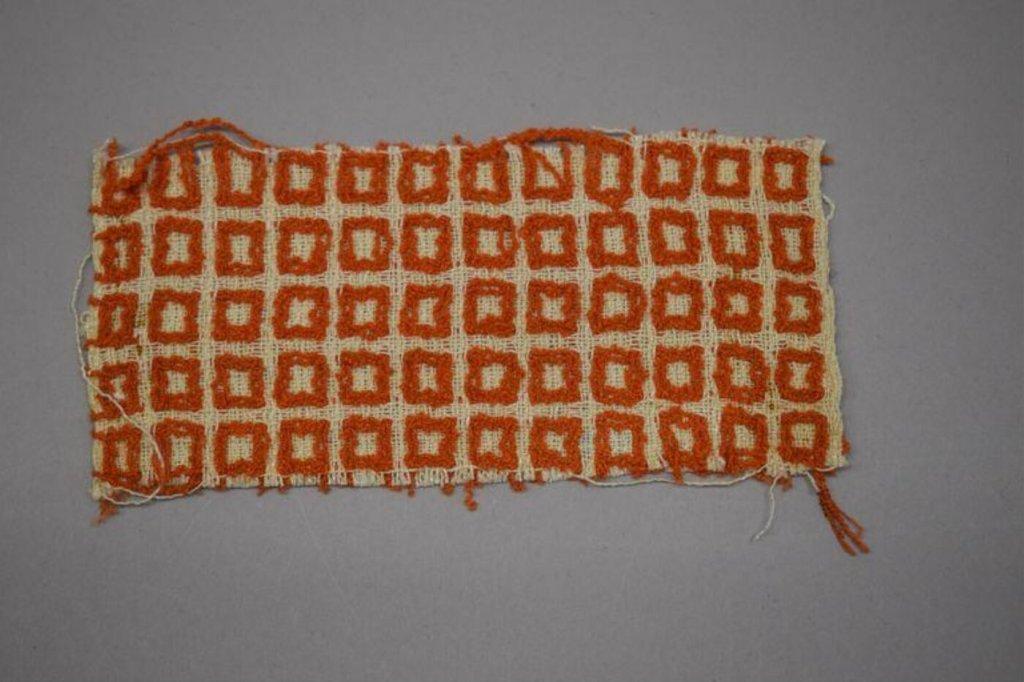 Fabric sample by Margaret Leischner