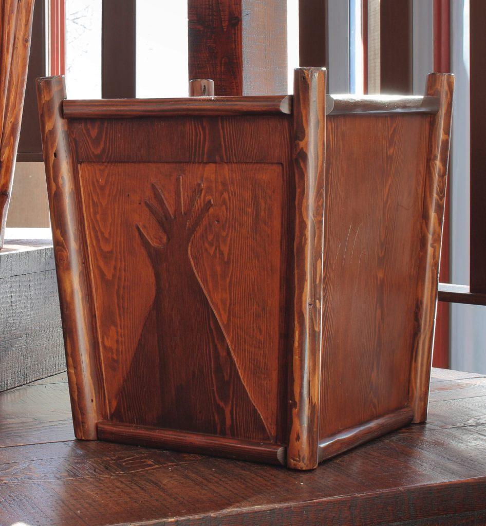 Thomas Molesworth wastepaper box