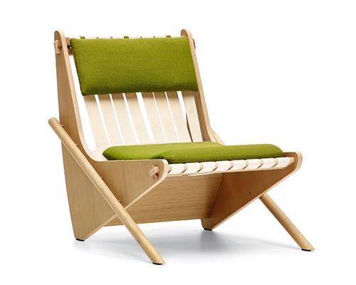Boomerang chair (1942) by Richard Neutrar