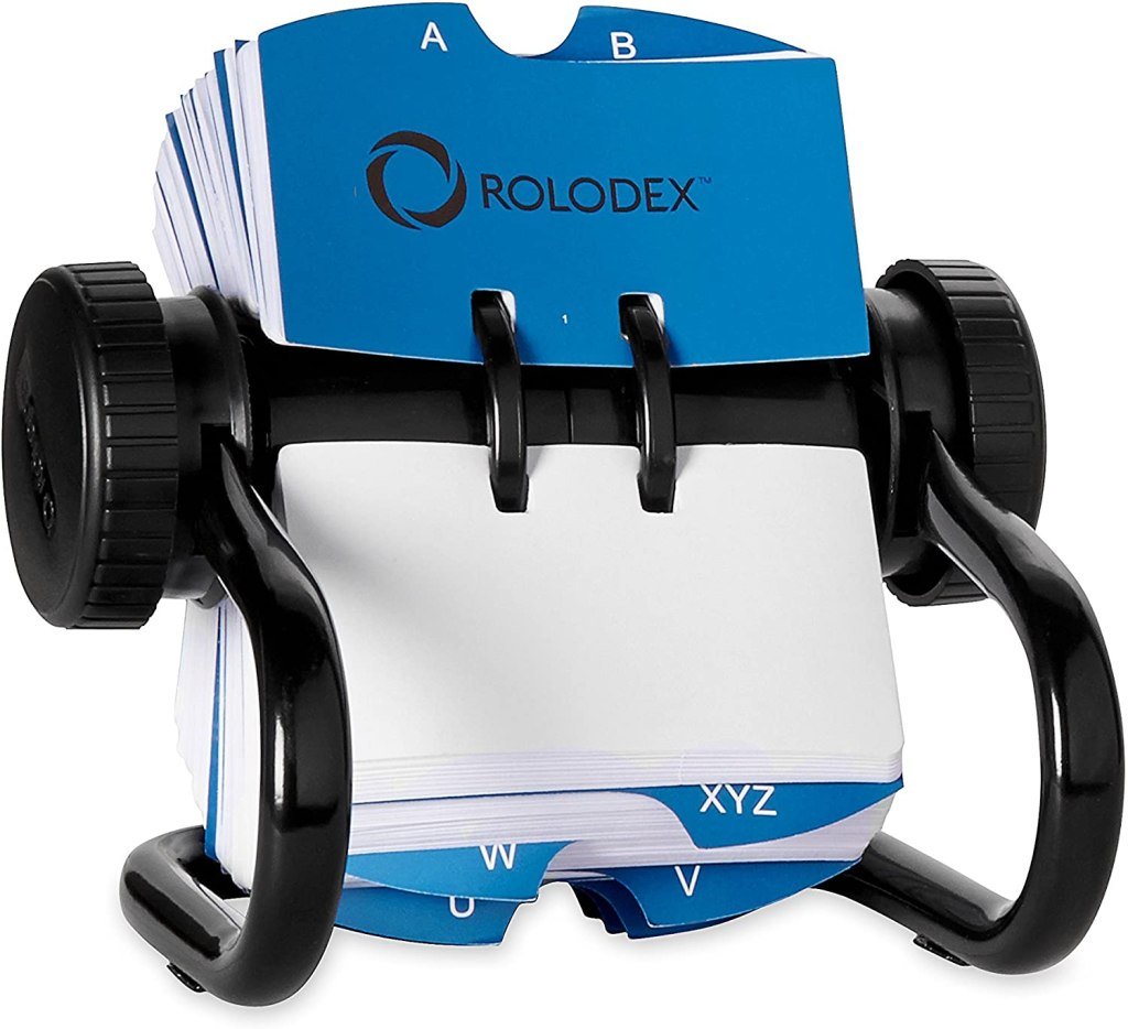 Rolodex 500-Card Rotary Card File product image