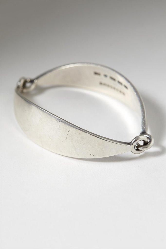 Silver ring designed by Bertel Gardeberg