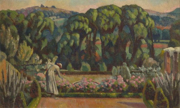 The Artist's Garden at Durbins, Guildford by Roger Fry