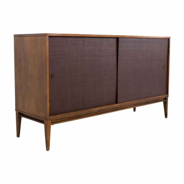 Mid Century solid wood sideboard buffet credenza by Paul McCobb