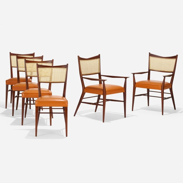 Directional Dining Chairs set of six by Paul McCobb
