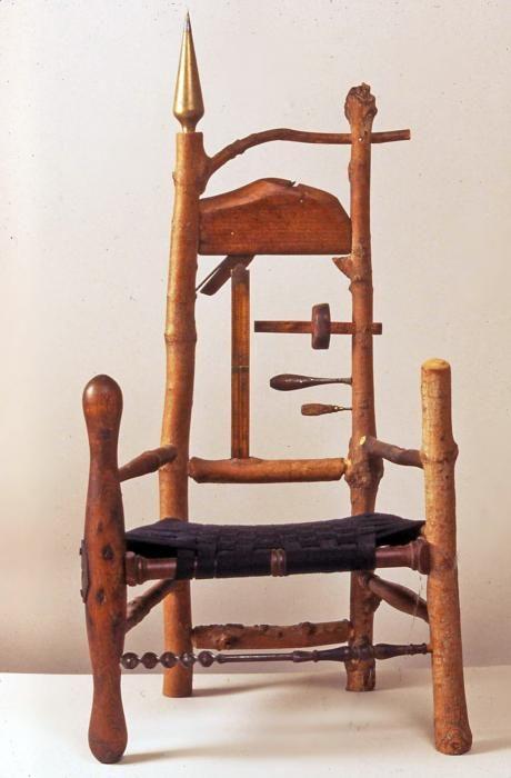 Child Tool Chair 2 by Daniel Mack