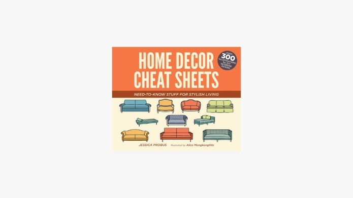Home Decor Cheat Sheets featured image