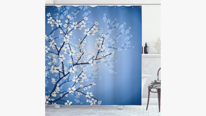 Shower Curtain Sakura Bloom