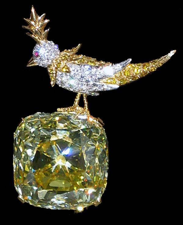 """Tiffany Diamond """"Bird on a Rock"""""""
