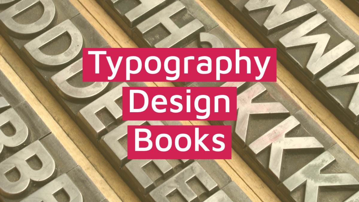typography design books category