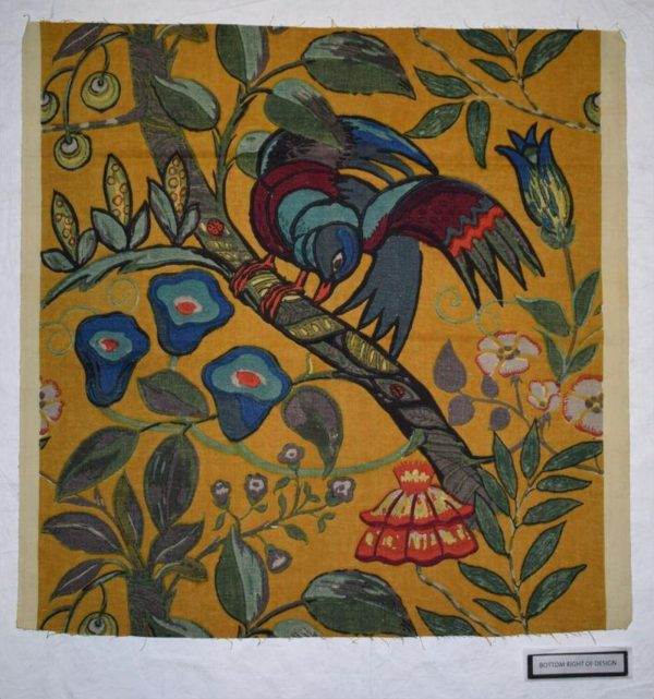 Furnishing fabric ca. 1923 (made) designed by Minnie McLeish