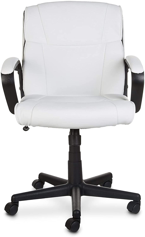 Amazon Basics Padded, Ergonomic, Adjustable, Swivel Office Desk Chair