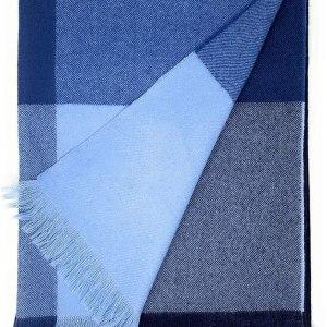Alpaca Home | Color Block Throw Blanket | 60% Premium Baby Alpaca, 30% Merino Wool, 10% Cashmere