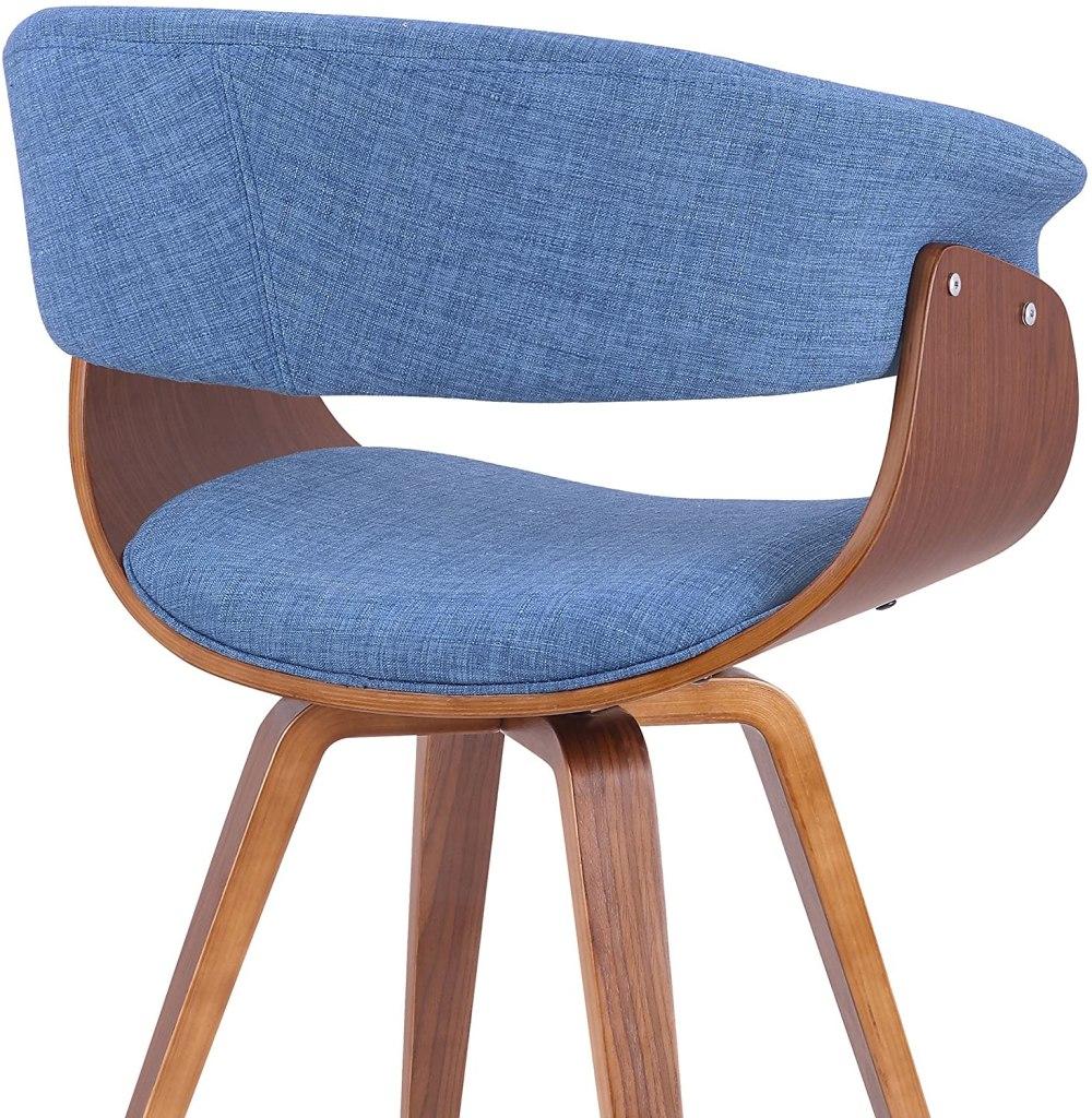 Armen Living Summer Dining Chair Blue