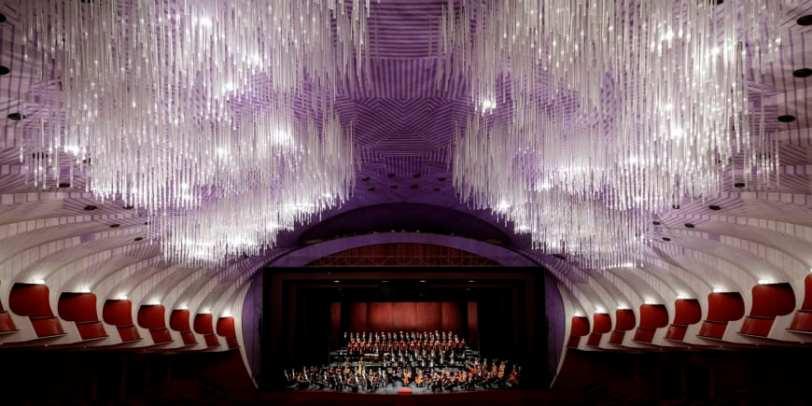 Nuvola light design at Teatro Regio in Turin. Photo: Creative Commons Wikipedia