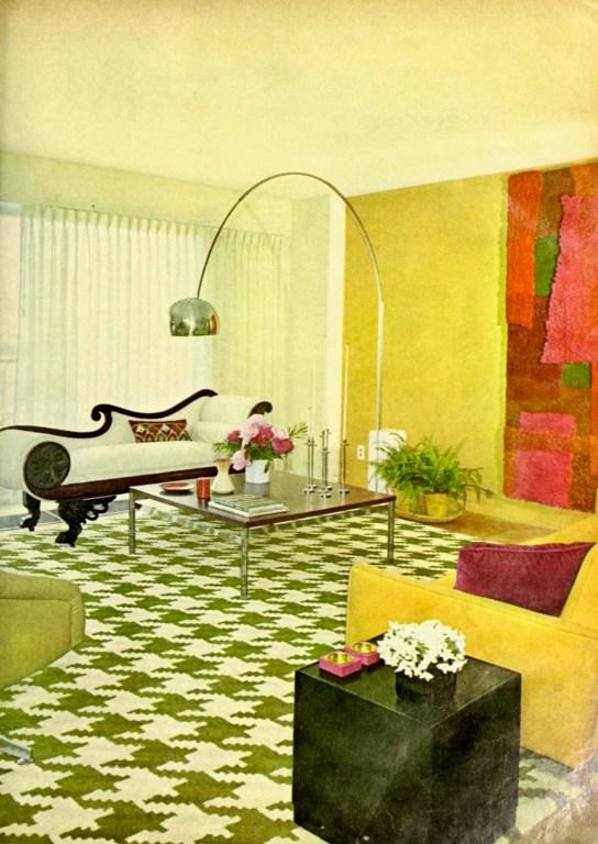Victorian Fillip 1966 Room Interior