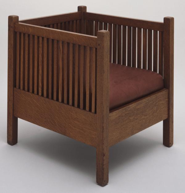 Armchair, 1907 designed by Gustav Stickley