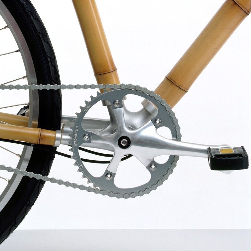 Bamboo bicycle concept by Ross Lovegrove