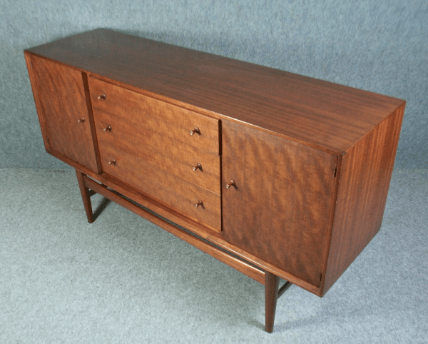 A 1950s mid-century teak sideboard by Gordon Russell