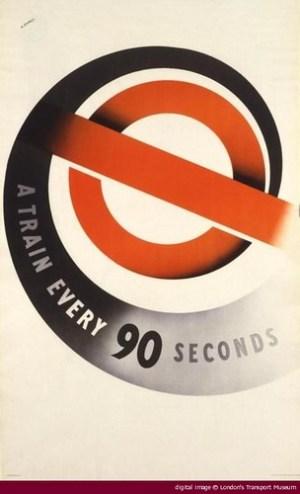 London Underground Poster by Abram Games