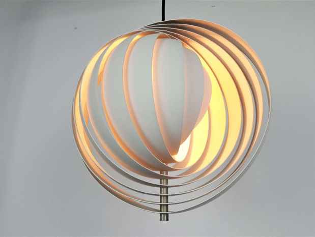 Original Verner Panton 'Moon' Lamp for Louis Poulsen, 1960s