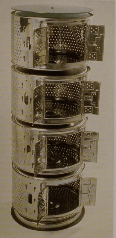 Robo-Stacker storage unit