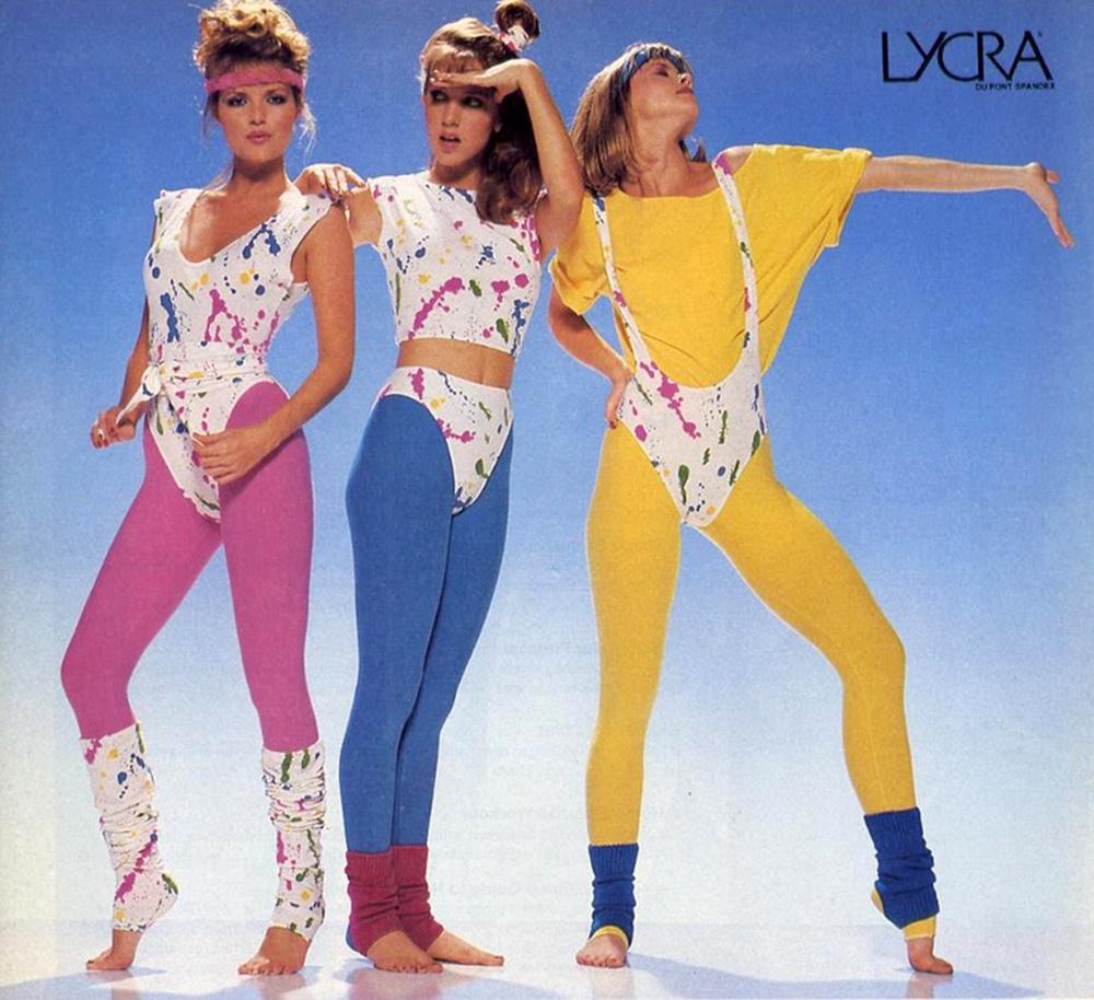 Lycra fashions