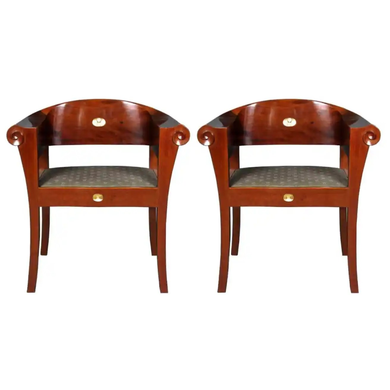 Pair of armchairs designed by Johan Rohde