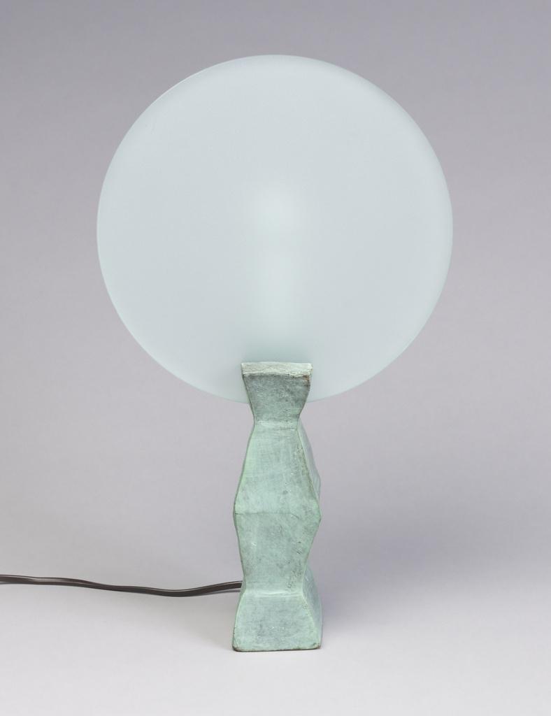Lune Lamp and Shade, 1985 by Mattia Monetti (Cooper Hewitt)