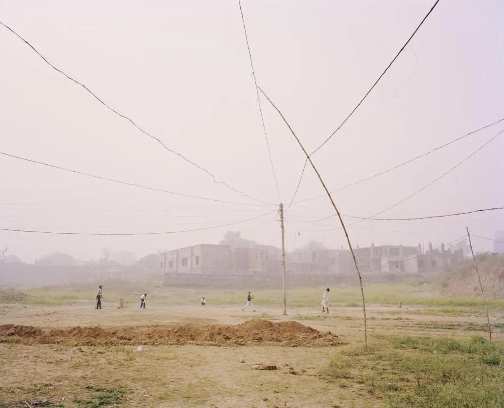 Cricket match by Vasantha Yogananthan