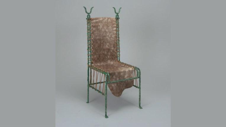Barbare Chair, 1981 by Mattia Monetti