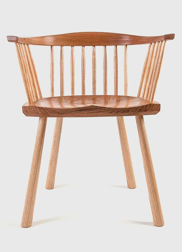 Lowback Stick Chair by Bern Chandley Chair Maker   Fine Furniture