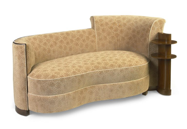 Settee from the S.S. Normandie