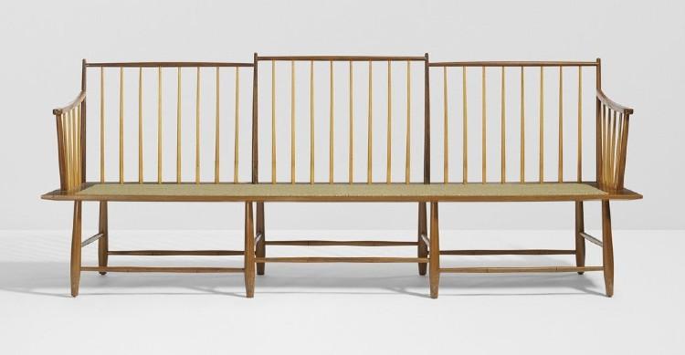 Bench Model 4871 by Edward Wormley