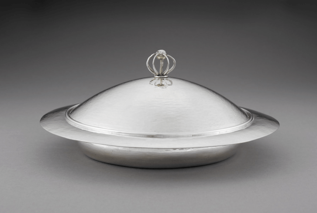 Muffin Dish and Cover by Charles Robert Ashbee