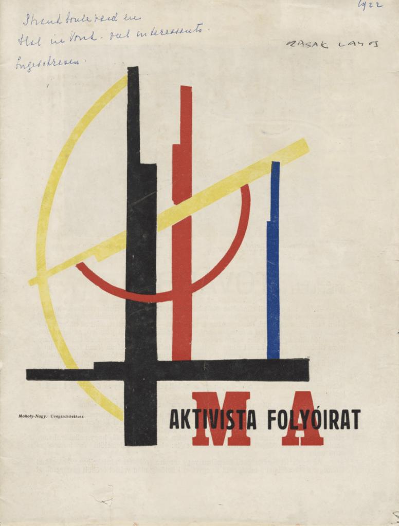 Ma: Aktivista Folyóirat, vol. VII, no. 5-6 1922 by László Moholy-Nagy (MoMA)