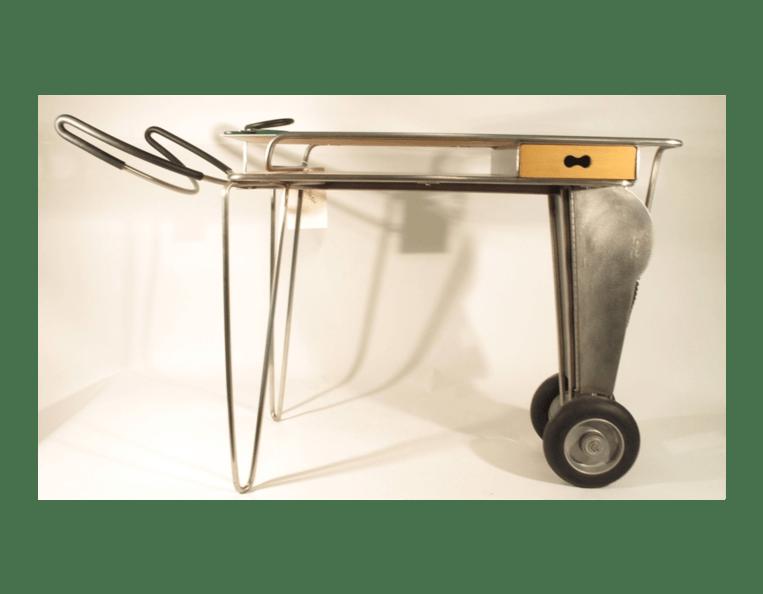 Longhorn table, 1996 designed by Lisa Krohn