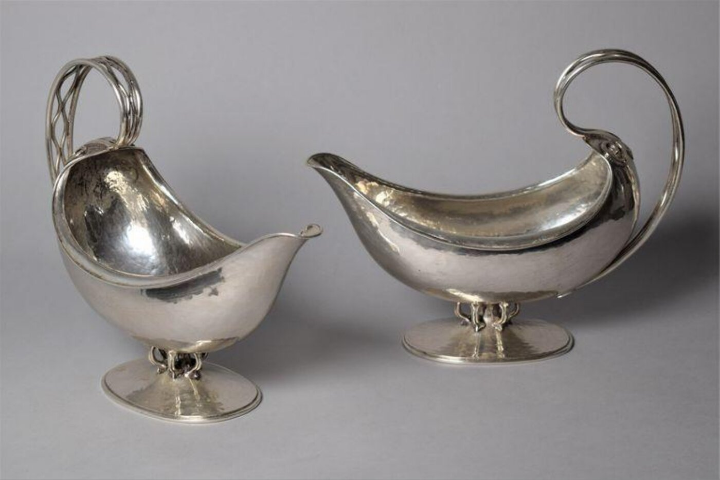 Pair of Sauce Boats by Omar Ramsden
