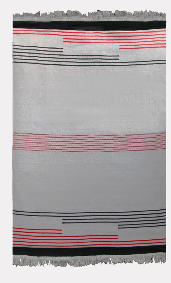 Vintage woolen rug by Antonin Kybal, 1950s