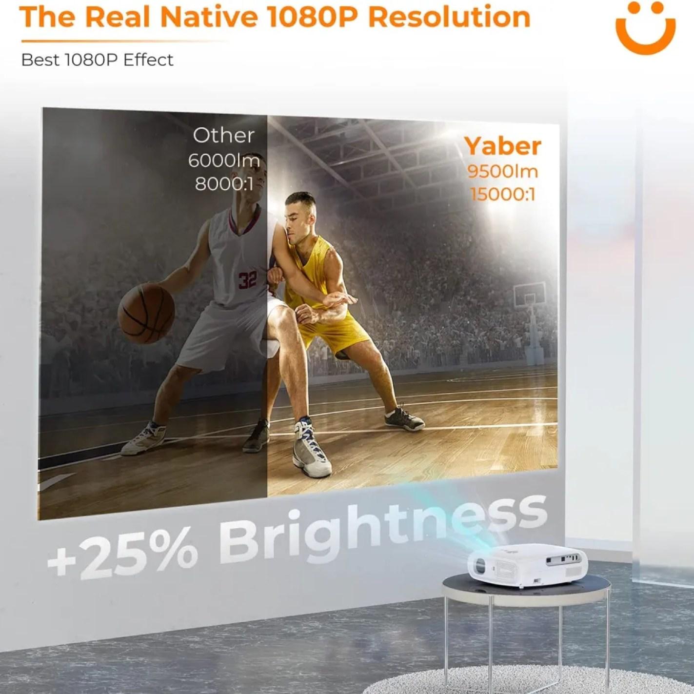 Yaber Projector Pro 7