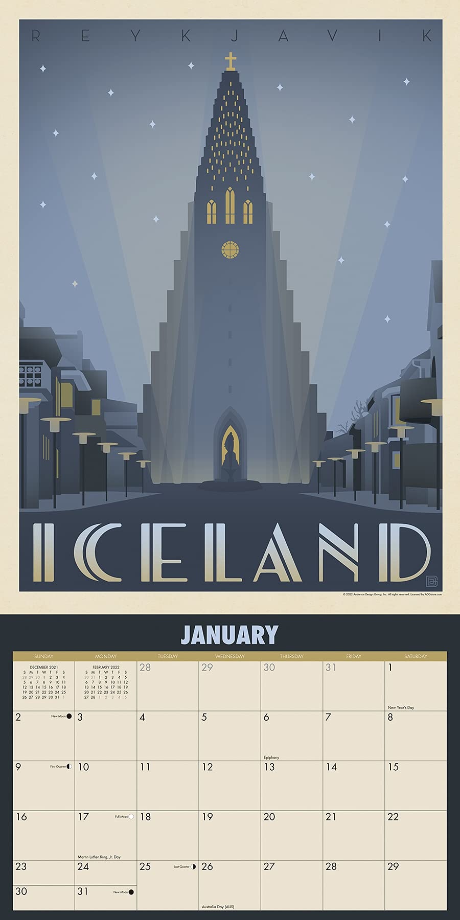 World Travel Vintage Art Posters 2022
