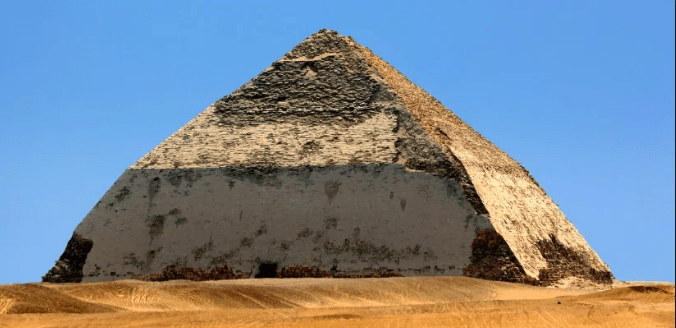 Egypt Opens Its 'Bent Pyramid' for the First Time in More Than 50 Years