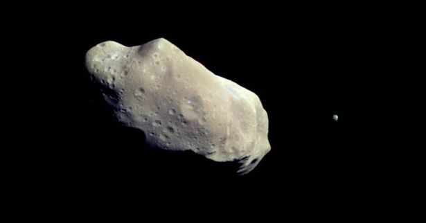NASA preparing for 'God of Chaos' asteroid due to whizz past Earth in 10 years