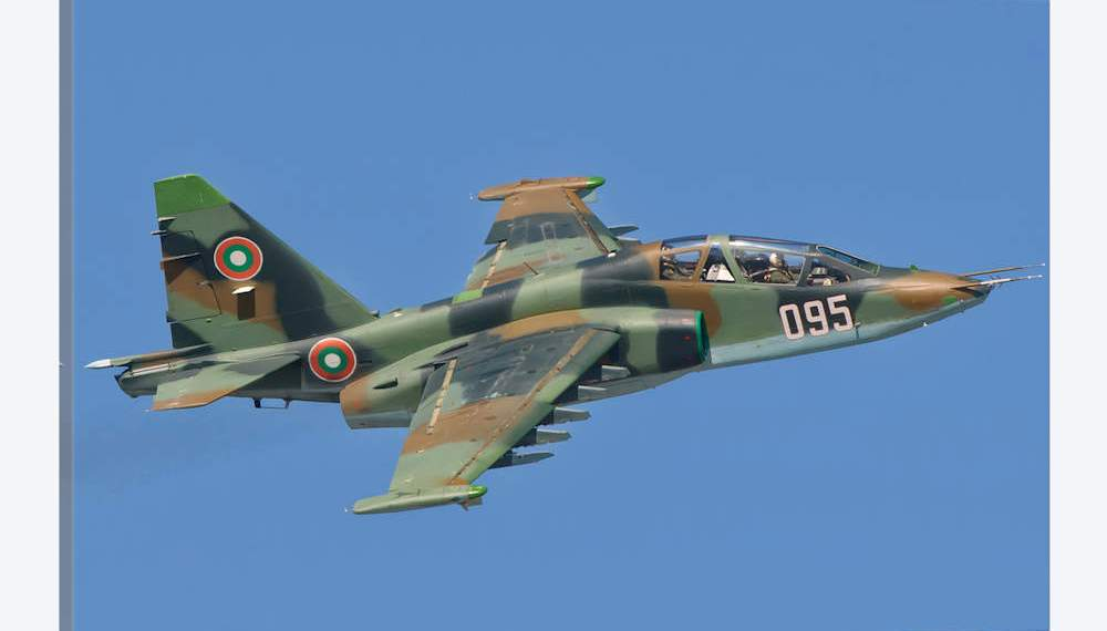 Bulgarian Su-25s arrive in Belarus for overhaul